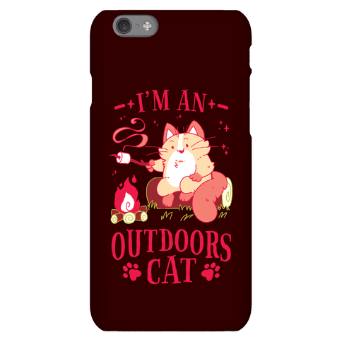 I'm An Outdoors Cat Phone Case
