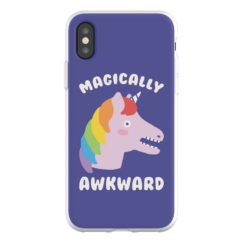 Magically Awkward Phone Flexi-Case