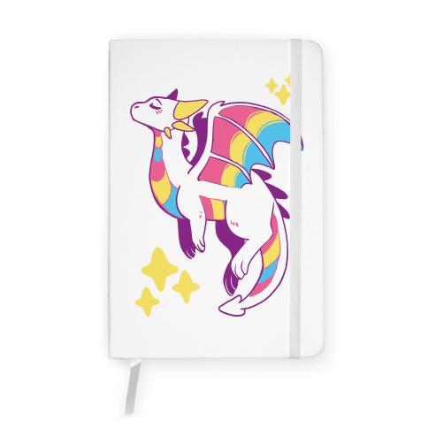 Pan Pride Dragon Notebook