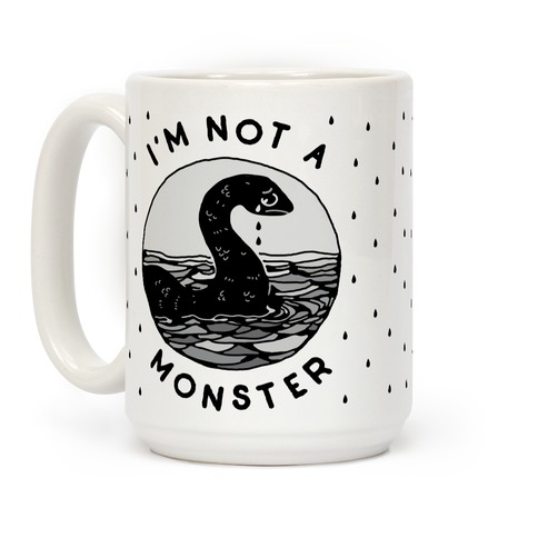 I'm Not a Monster (Nessy) Coffee Mug