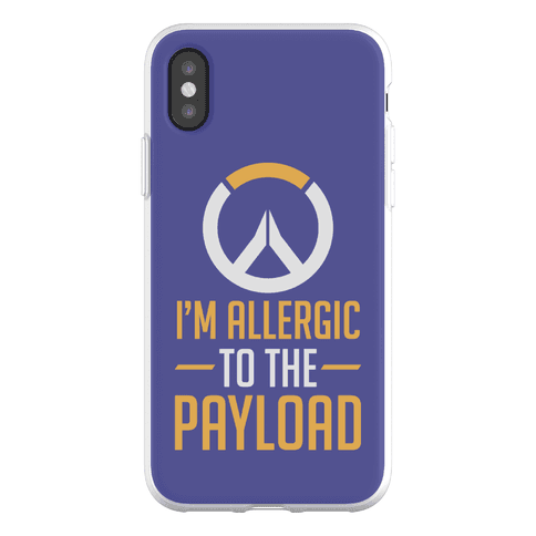 I'm Allergic to the Payload Phone Flexi-Case