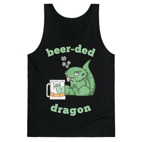 Beer-ded Dragon Tank Top