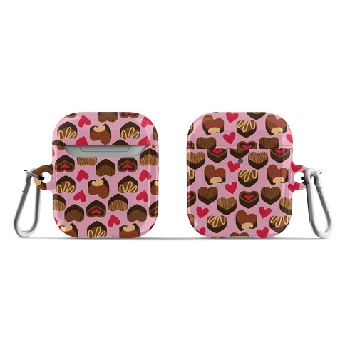 Chocolates of Love Pattern AirPod Case