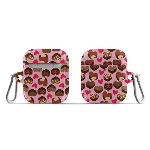 Chocolates of Love Pattern AirPod Case