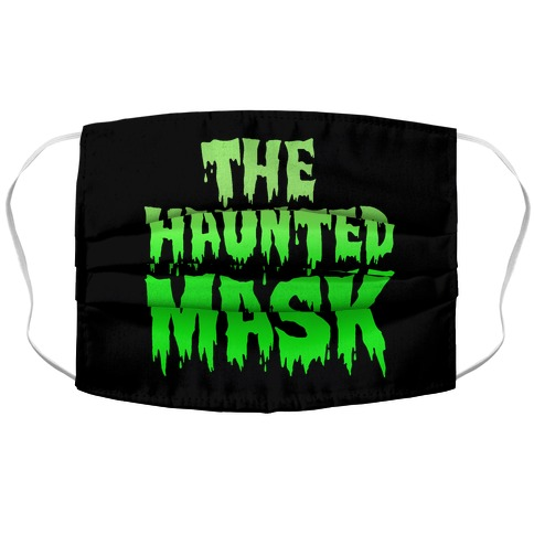 The Haunted Mask Face Mask Parody Accordion Face Mask