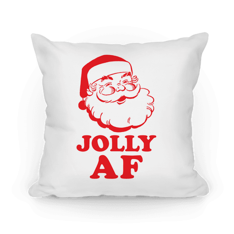 Jolly AF Pillow