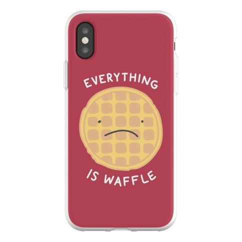 Everything Is Waffle Phone Flexi-Case