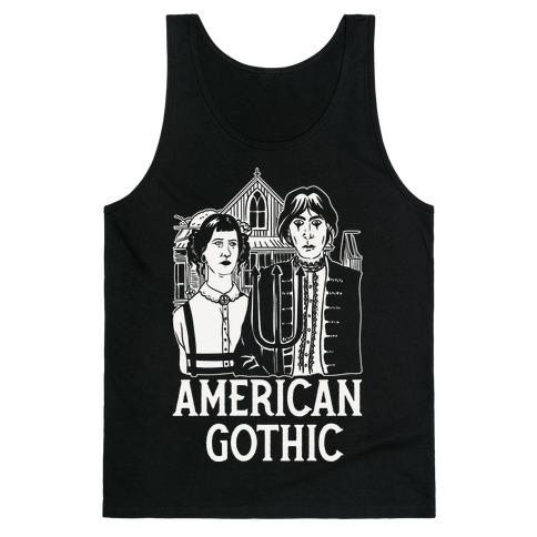 American Gothic Mall Goths Tank Top