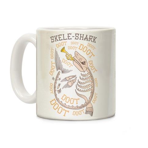 Skele-Shark Coffee Mug