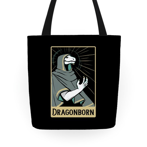 Dragonborn - Dungeons and Dragons Tote