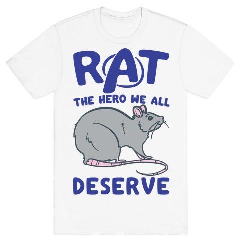 Rat the Hero We All Deserve Parody T-Shirt