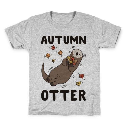Autumn Otter Kids T-Shirt