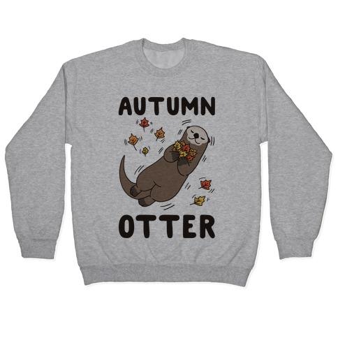 Autumn Otter Pullover