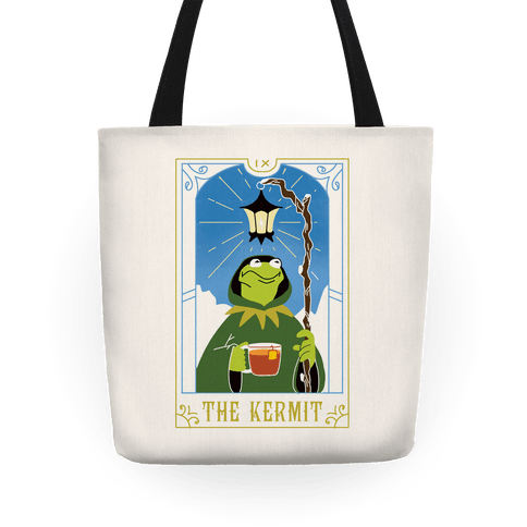 The Kermit Tarot Card Tote