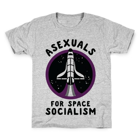 Asexuals For Space Socialism Kids T-Shirt