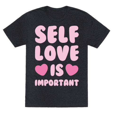 Self Love Is So Important White Print