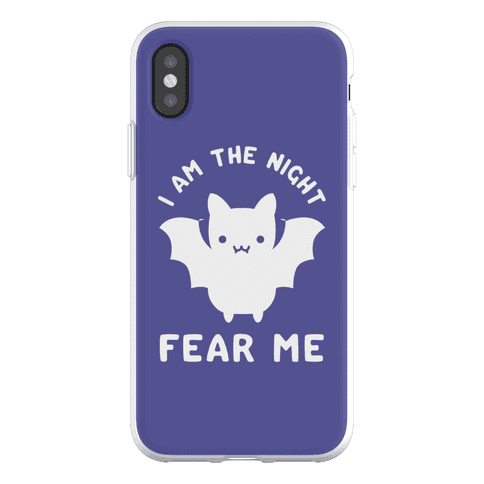 I Am The Night Fear Me Phone Flexi-Case