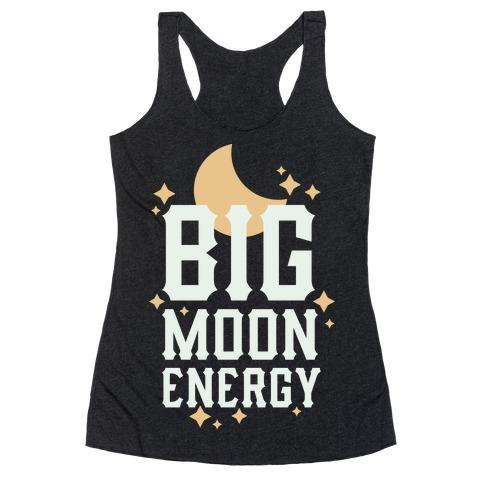 Big Moon Energy Racerback Tank Top