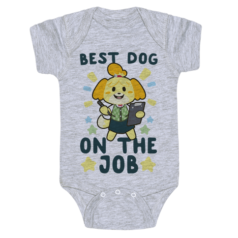 Best Dog on the Job - Isabelle Baby Onesy