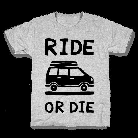 Ride Or Die Road Trip Kids T-Shirt