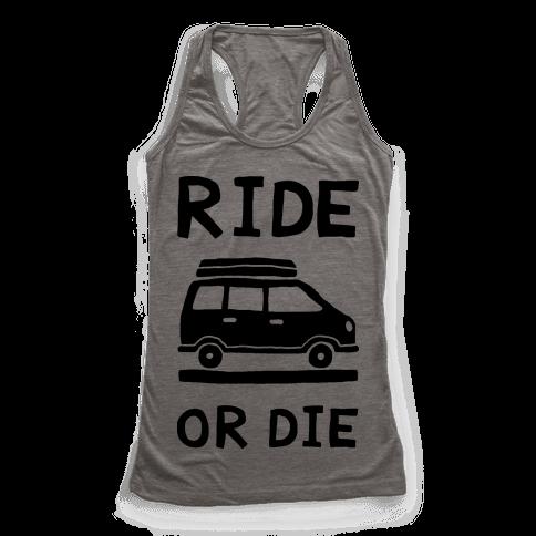 Ride Or Die Road Trip Racerback Tank Top