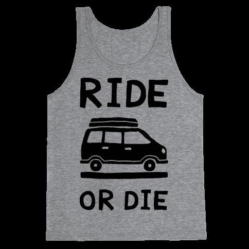 Ride Or Die Road Trip Tank Top