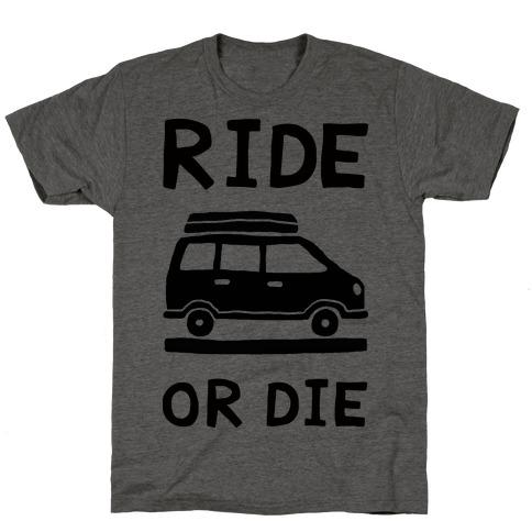 Ride Or Die Road Trip T-Shirt
