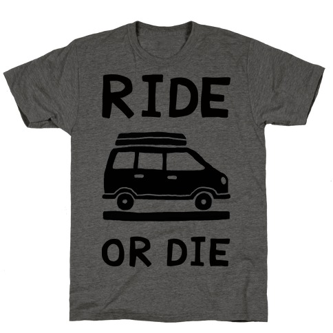 Ride Or Die Road Trip T-Shirt