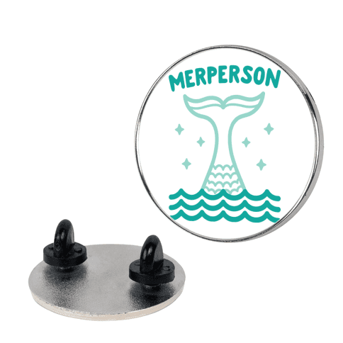 Merperson Pin