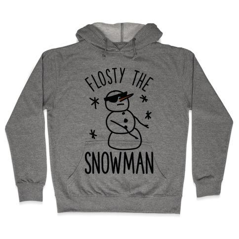 Flosty The Snowman Hooded Sweatshirt