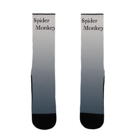 Spider Monkey Sock