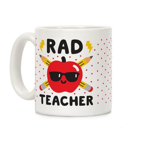 Rad Teacher Coffee Mug