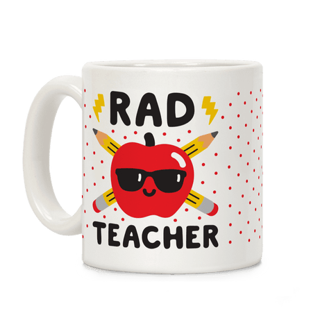 Rad Teacher Coffee Mug