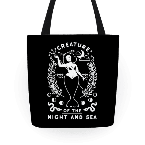 Creature of the Night and Sea Tote