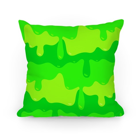 Green Slime Pillow