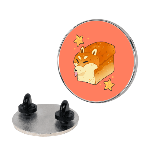 Shiba Inu Loaf Pin