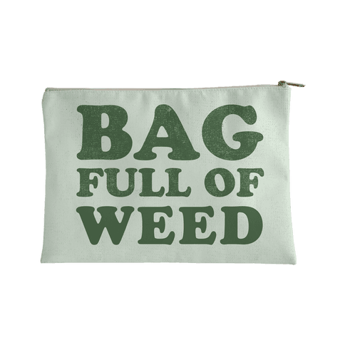 Bag Full of Weed Accessory Bag