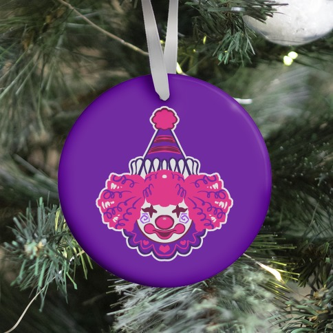 Clown Baby Pink Ornament
