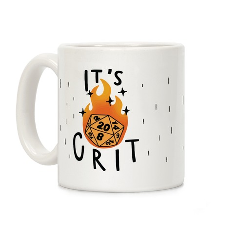 It's Crit Coffee Mug