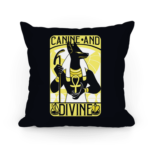 Canine and Divine Pillow