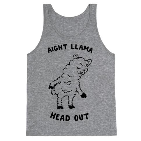 Aight Llama Head Out Tank Top
