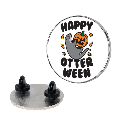 Happy Otterween pin