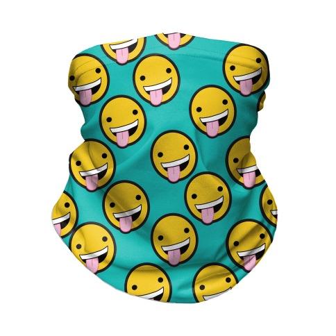 Wildin' Out Emoji Neck Gaiter