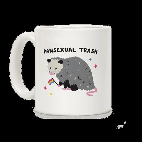 Pansexual Trash Opossum Coffee Mug