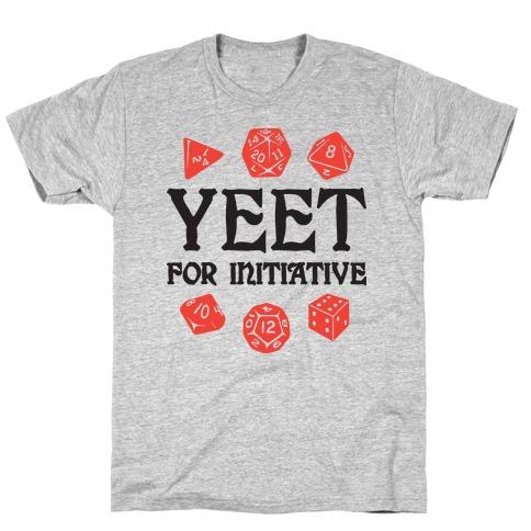 Yeet For Initiative T-Shirt