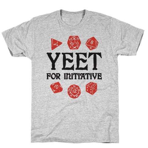 Yeet For Initiative T-Shirt