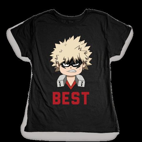 Best Friends Bakugo Womens T-Shirt