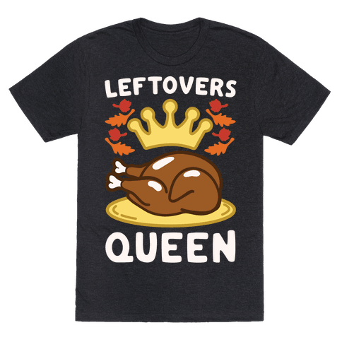 Leftovers Queen White Print