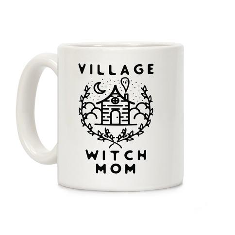 Village Witch Mom Coffee Mug