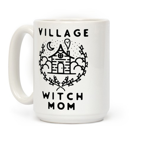 Village Witch Mom Coffee Mug